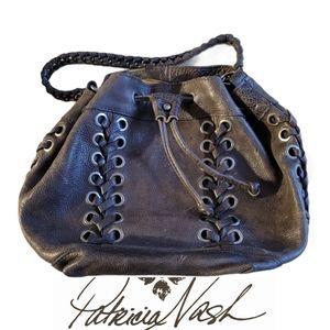 PATRICIA NASH Martina Drawstring satchel bag